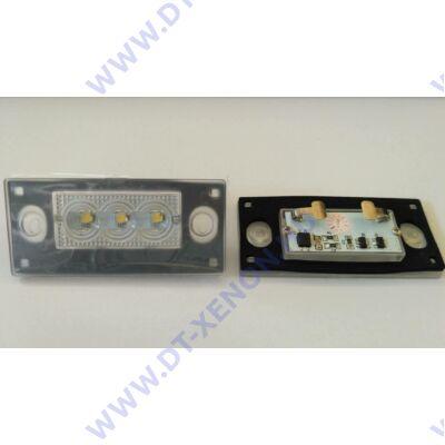 DTX 1053 AUDI 6000K fehér SMD LED-es rendszámtábla világítás szett
