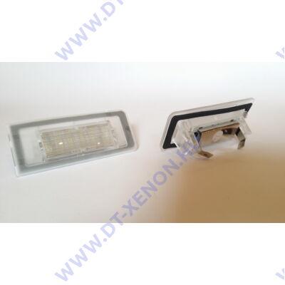 DTX 1056 AUDI 6000K fehér SMD LED-es rendszámtábla világítás szett