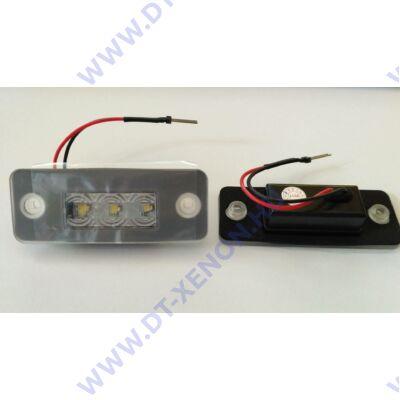 DTX 1057 AUDI 6000K fehér SMD LED-es rendszámtábla világítás szett