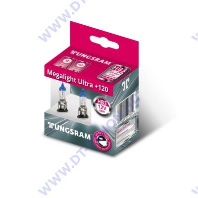 Tungsram Megalight Ultra HB3 9005NU halogén izzó +120%