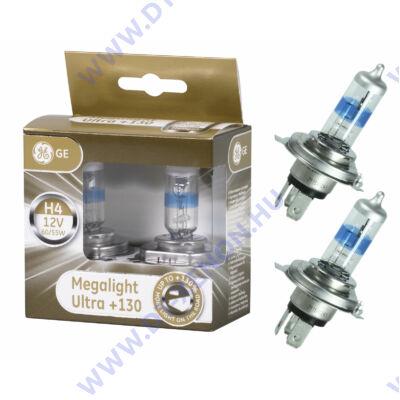 Tungsram H4 Megalight Ultra halogén izzó +130%