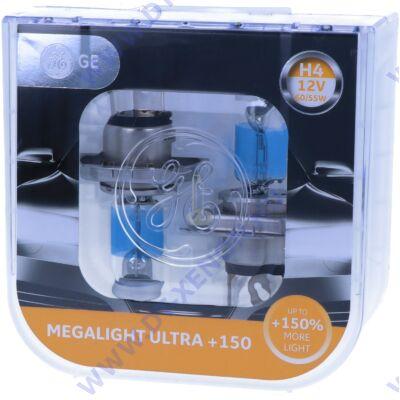GE-Tungsram Megalight Ultra H4 halogén izzó +150% 50440NXNU