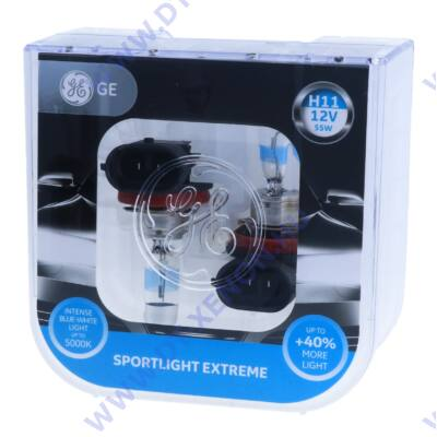 GE-Tungsram Sportlight Extreme H11 halogén izzó +40%