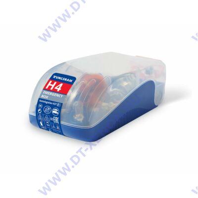 Tungsram H4 12V tartalék izzó / biztosíték készlet