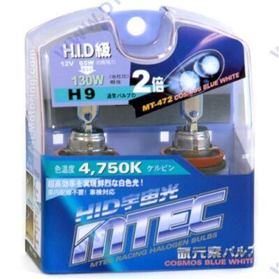 MTEC H9 Cosmos Blue White xenon hatású izzó