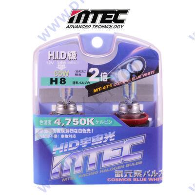 MTEC H8 Cosmos Blue White xenon hatású izzó