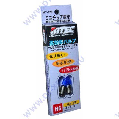 MTEC BAX9S H6W SuperWhite 6000K fehér izzópár