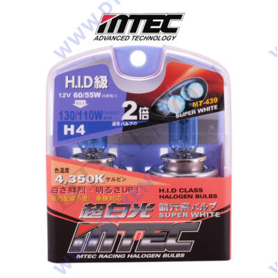 MTEC H4 SuperWhite xenon hatású izzó