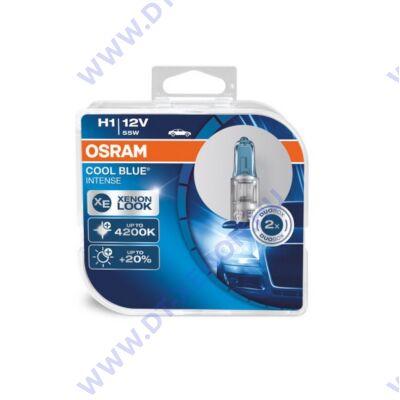 Osram Cool Blue Intense H1 DUO BOX halogén izzó 64150CBI-HCB