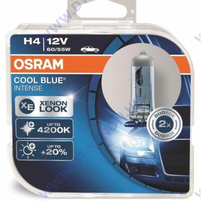 Osram Cool Blue Intense H4 DUO BOX halogén izzó 64193CBI-HCB