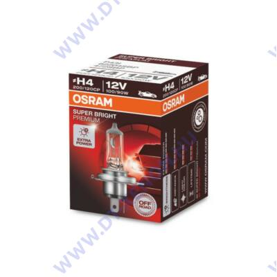 Osram Super Bright Premium H4 100/90W halogén izzó 62204SBP