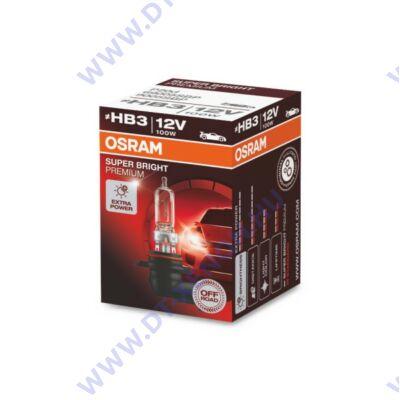 Osram Super Bright Premium HB3 100W halogén izzó 69005SBP
