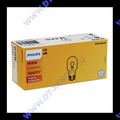 Philips T15 W16W Vision halogén izzó +30% 12067CP