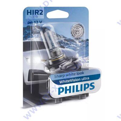 Philips HIR2 WhiteVision Ultra halogén izzó +60% 9012WVUB1