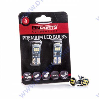 T10 (W5W) LED 18 SMD Einparts EPL198 12-24V