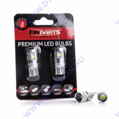T10 (W5W) LED 5 SMD Einparts EPL199 Philips Chip 12-24V