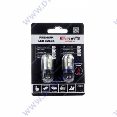 PW24W LED 10x5630 6000K fehér SMD Einparts EPL35