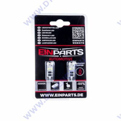 T10 (W5W) LED 8 SMD Einparts EPL68
