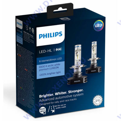 Philips H4 23W X-tremeUltinon LED gen1 6500K +200% 12901HPX2
