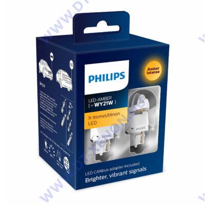 Philips T20 WY21W (7440) X-tremeUltinon LED gen2 sárga  + Smart Canbus 11065XUAXM