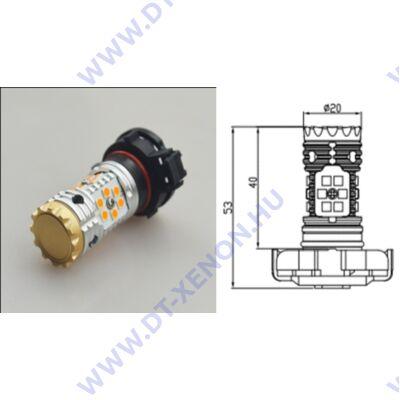 PSY24W LED 24x3030SMD Epistar (sárga) Can-Bus index