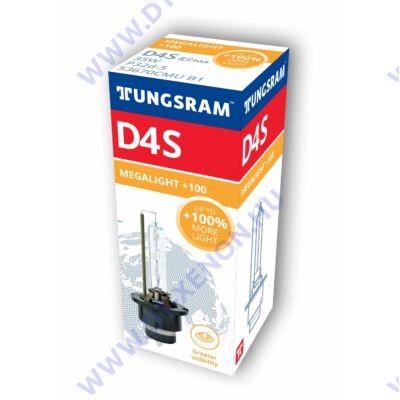 Tungsram D4S Xensation Megalight +100% Xenon izzó 53670CMU