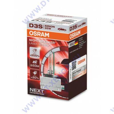 Osram D3S Night Breaker Laser +200% xenon izzó 66340XNL