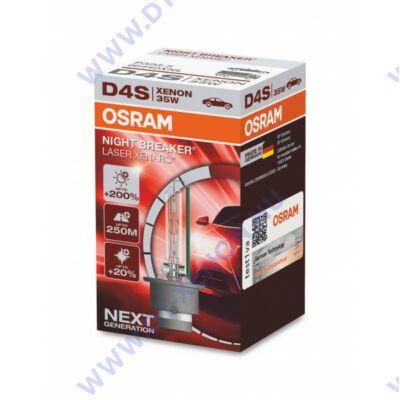 Osram D4S Night Breaker Laser +200% xenon izzó 66440XNL