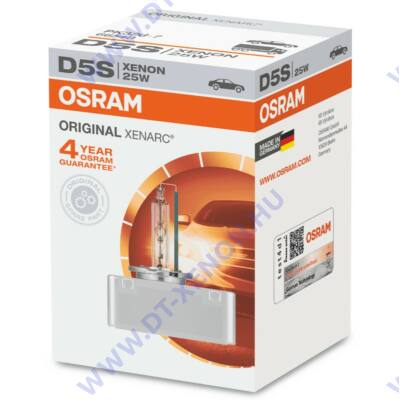 Osram Xenarc Original 66540 D5S Xenon izzó