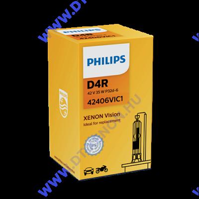 Philips D4R Vision Xenon izzó 42406VI