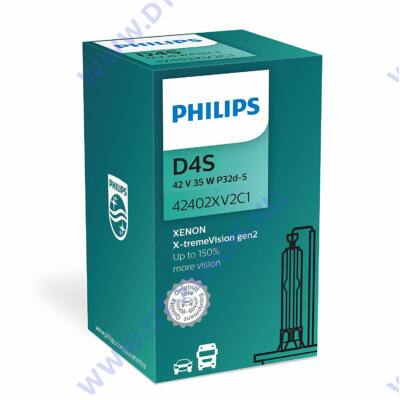 Philips X-tremeVision gen2 42402 XV2 D4S Xenon izzó