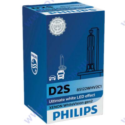 Philips D2S WhiteVision gen2 Xenon izzó 85122WHV2