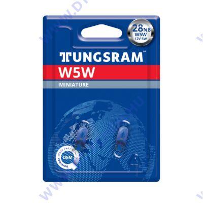 Tungsram W5W T10 BLUE 4200K fehér halogén izzó DUO BOX