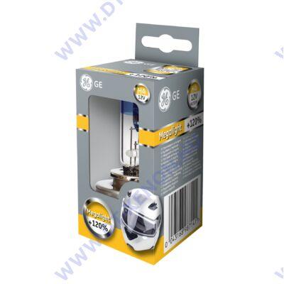 GE H4 Megalight Moto +120% halogén izzó 50440SNU