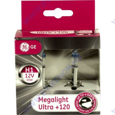 GE - Tungsram H1 Megalight Ultra halogén izzó +120% 50310NU