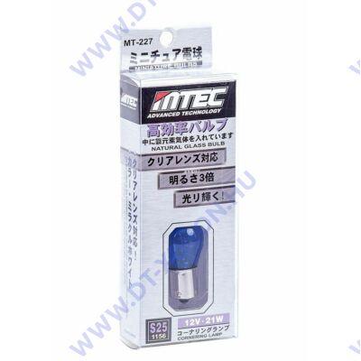 MTEC BA15S S25 P21W 21W SuperWhite fehér izzópár