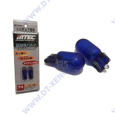 MTEC T10 SuperWhite 6000K W5W fehér izzópár