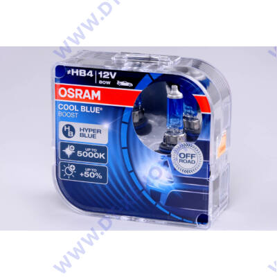 Osram Cool Blue Boost HB4 DUO BOX halogén izzó 69006CBB-HCB