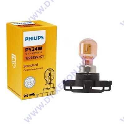 Philips PY24W SilverVision PGU20/4 12274SC+C1