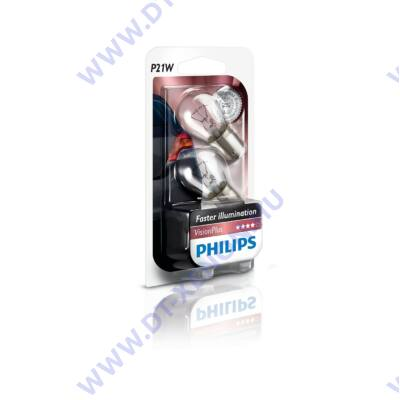 Philips P21W - BA15S VisionPlus izzó