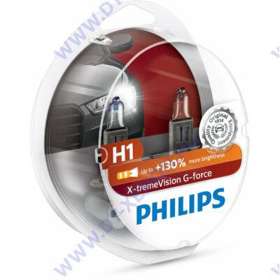 Philips H1 X-tremeVision G-Force halogén izzó +130% 12258XVG