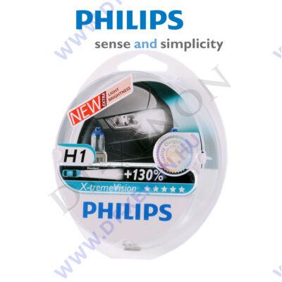 Philips H1 X-tremeVision halogén izzó +130% 12258XV+