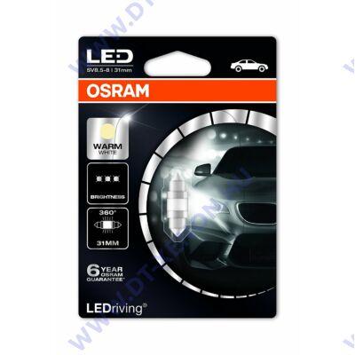 Osram LEDriving Szofita Premium LED C3W 31mm melegfehér 6497WW