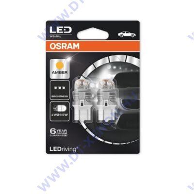 Osram LEDriving Premium W21/5W T20 7443 W3x16q 7915YE SMD LED sárga