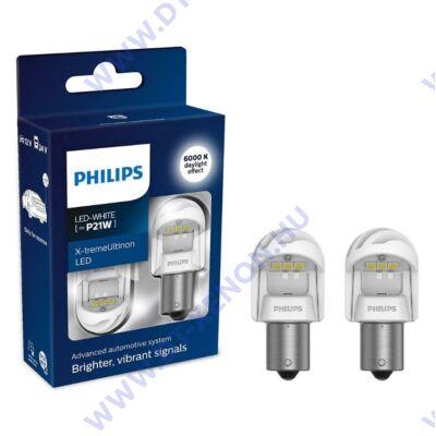 Philips BA15S P21W X-tremeUltinon LED gen2 6000K 11498XUWX2