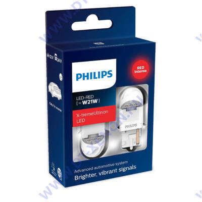 Philips T20 W21W (7440) X-tremeUltinon LED gen2 piros 11065XURX2