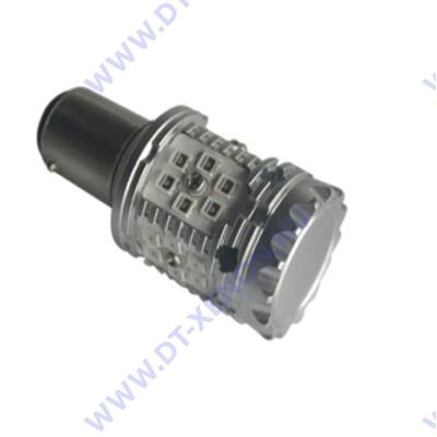 BAZ15D P21/4W LED 30x3030SMD Epistar T2 piros Can-Bus