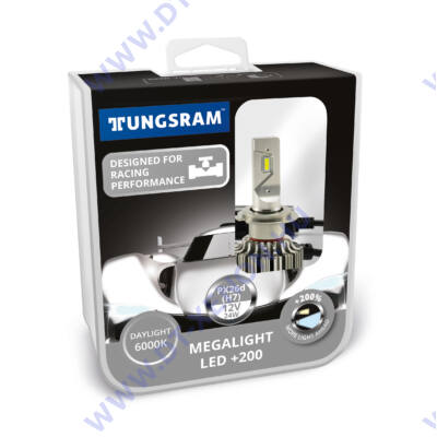 Tungsram H7 LED 24W 12V 6000K +200% 60450PB2