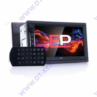 """Einparts EPCR07 Prémium 7"""" 2DIN GPS USB MSD BT fejegység"""