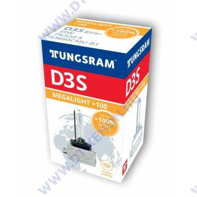 Tungsram D3S Xensation Megalight +100% Xenon izzó 53660CMU